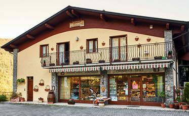 Spaccio aziendale Casera Monaci